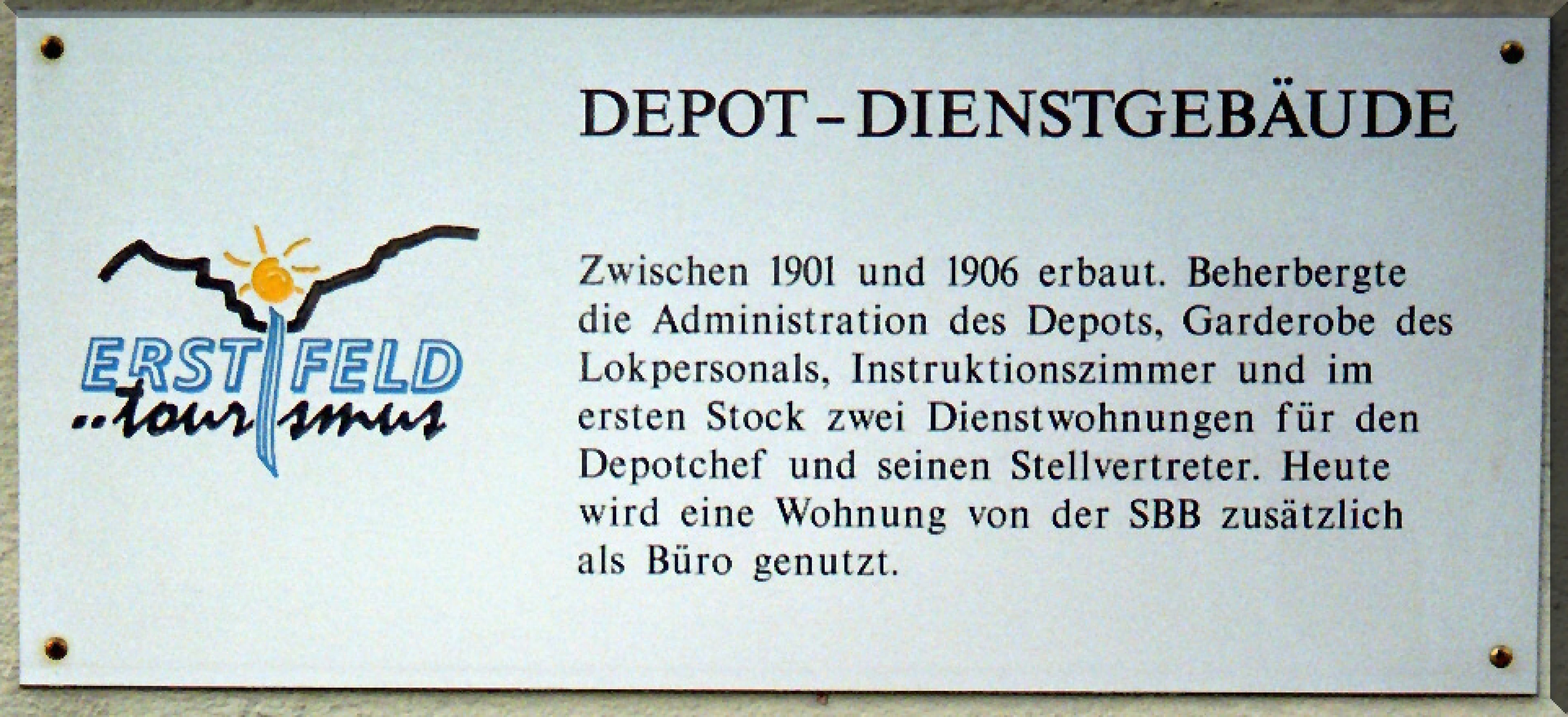 Depot-Betriebsgeb