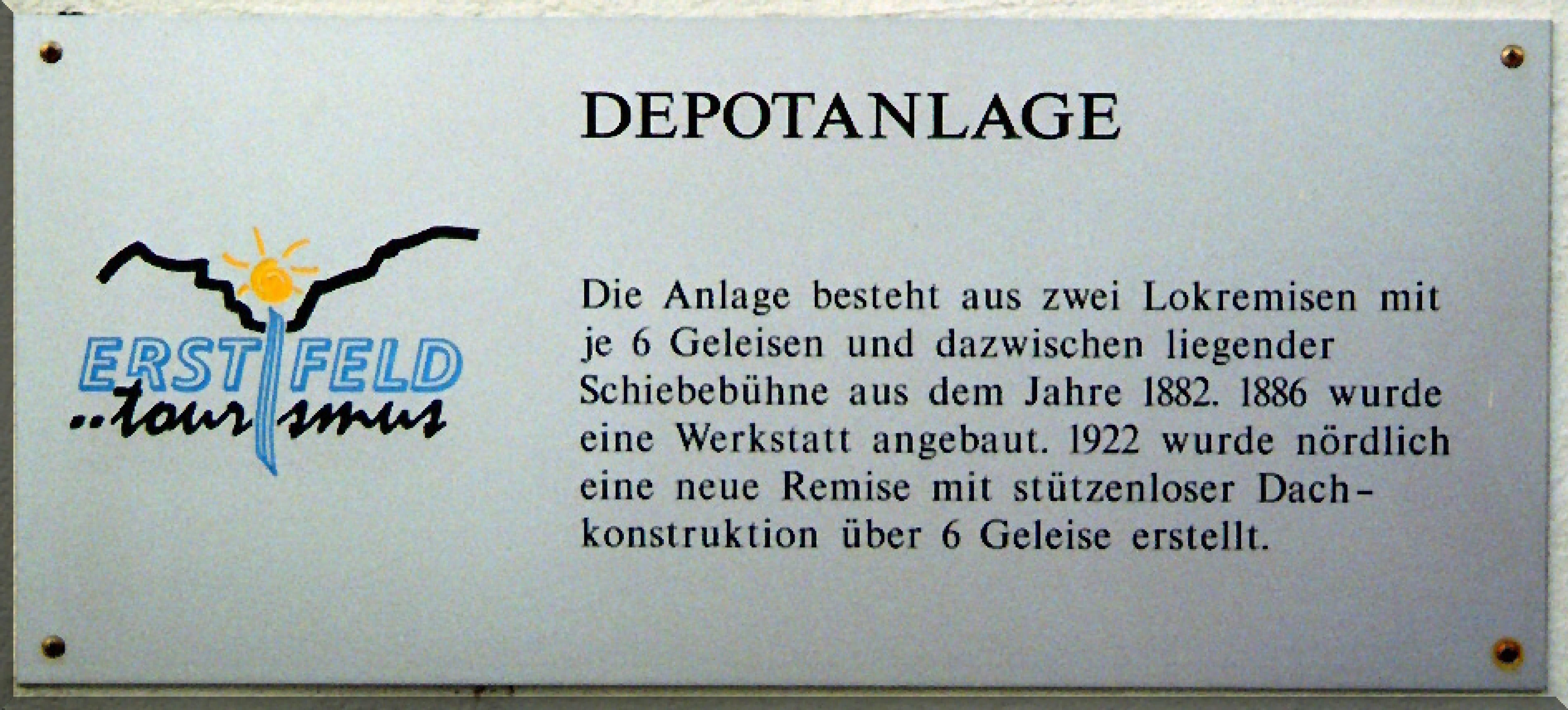 Tafel-Depotanlage